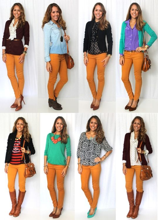 Today's Everyday Fashion: Frugal | Ropa, Combinar colores ropa .
