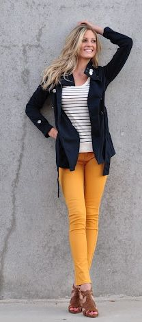 194 Best Mustard pants images | Mustard pants, Yellow pants, Fashi