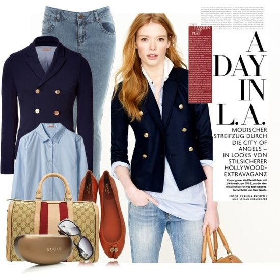 Navy Blue Blazers Outfits Combination Ideas | Blazer outfits, Blue .