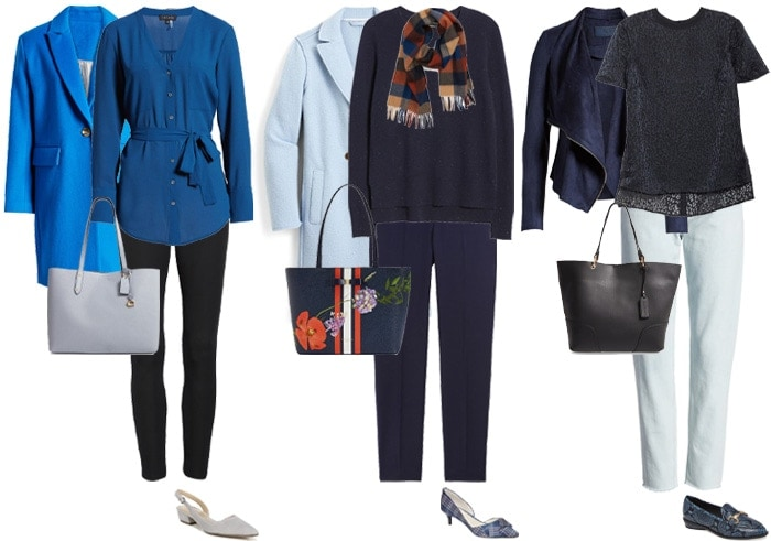 How to wear navy blue: color palettes and styles for you to choose .