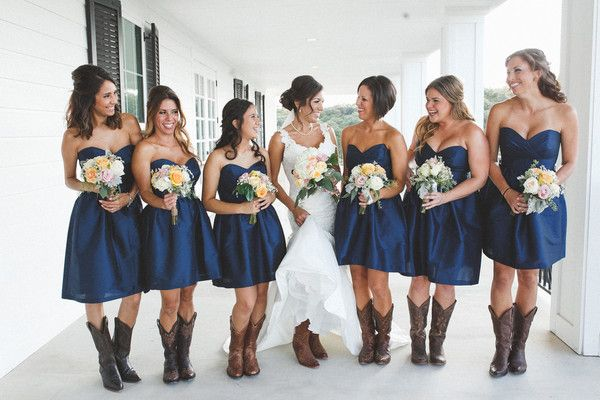 Cyndi and Chris's Wedding in Boerne, Texas | Country bridesmaid .