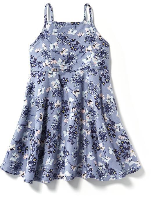 Floral Crepe Cami Dress for Baby | Girls spring dresses, Toddler .