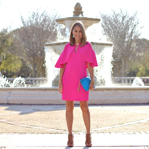 23 Hot Pink Dress Outfits For This Season - Styleohol