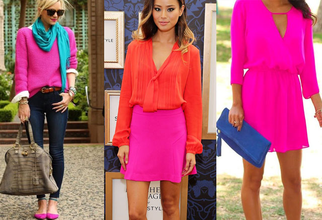 Colors that Go with Hot Pink Clothes - Outfit Ideas | Fashion Rul
