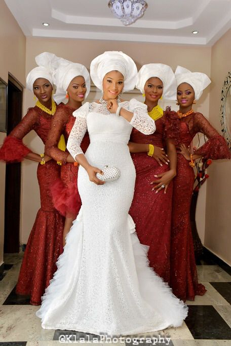 Presents Tese's Fashionable Shoot With Her Bridesmaids | African .