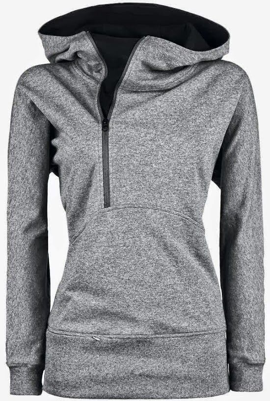 Comfy Open Face Side Zip North Face Hoodie - I love | Hoodies .