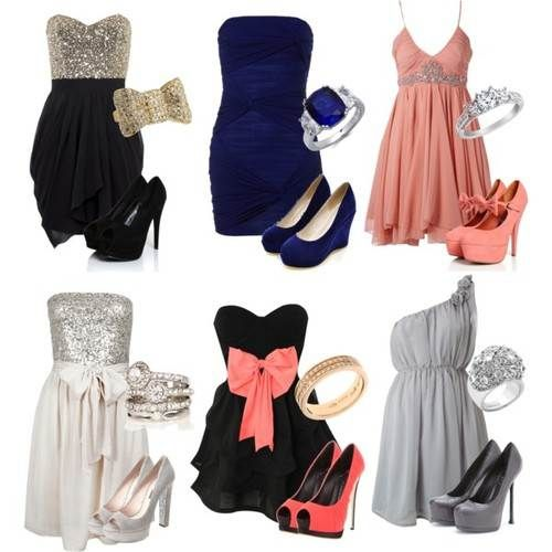 Semi Formal Dress Outfit for Teenager Girls | Dresses, Fashion .