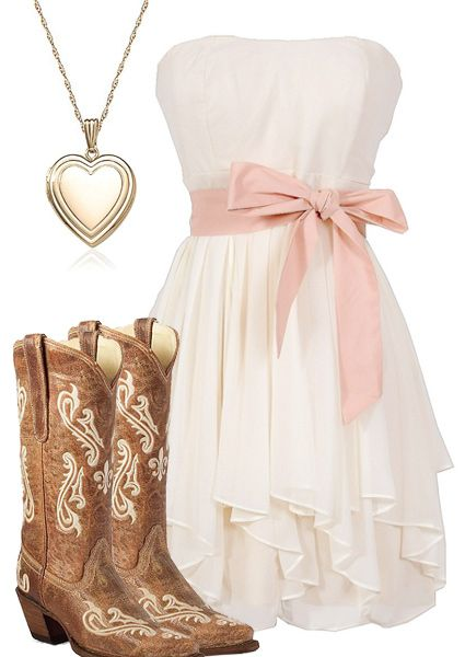 Country Girl. Pink Outfit Ideas | Country dresses, Country girls .