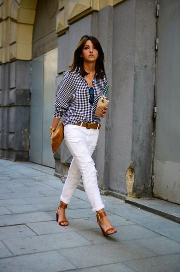 What to Wear With White Jeans—And the Best Ones to Shop Right Now .