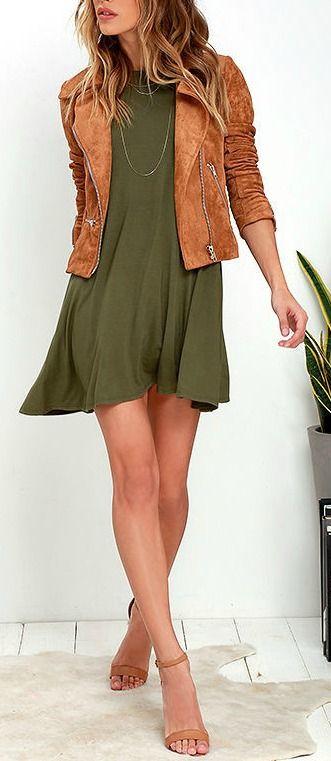 Tupelo Honey Olive Green Dress | Fashion, Style, Cloth