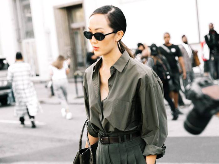 14 Olive-Green Outfits You Can Wear Year Around | Who What We