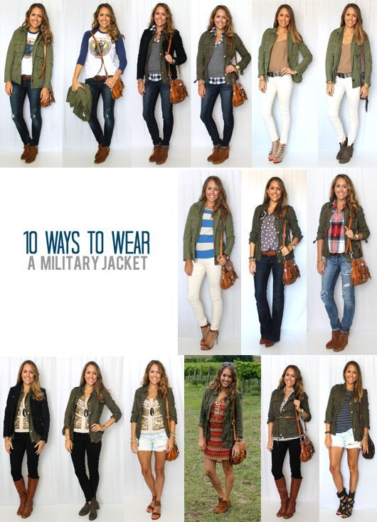 Cute Cold Weather Outfits | Military jacket outfits, Fashion, Cold .