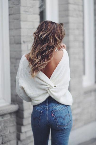 The Best Bras For Open Back Shirts | Backless sweater, Fashion .