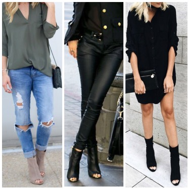29 Killer Open Toe Booties Outfit Ideas to decide How and What to .