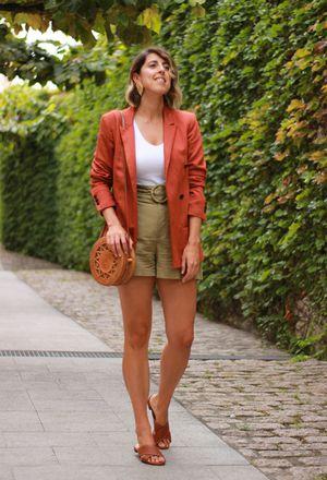 orange blazers | Orange blazers, Orange blazers outfit ideas .