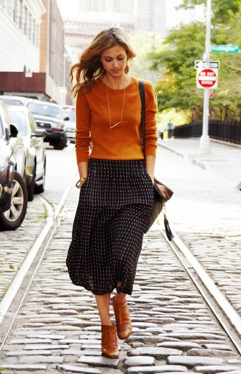 15 Chic Ways To Rock Burnt Orange This Fall - Styleohol