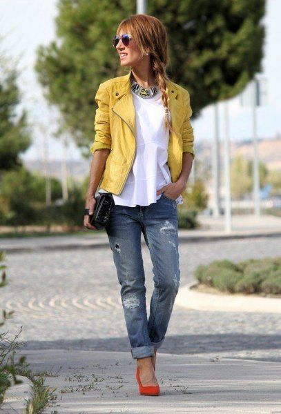How to Wear Orange Heels: 15 Cool & Attractive Outfit Ideas (2020 .