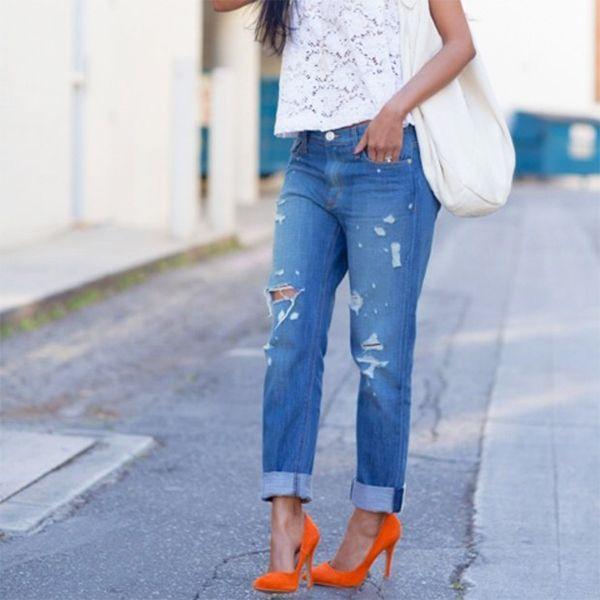 Our Favorite Spring Outfit Ideas | Fashion, Boyfriend jeans .