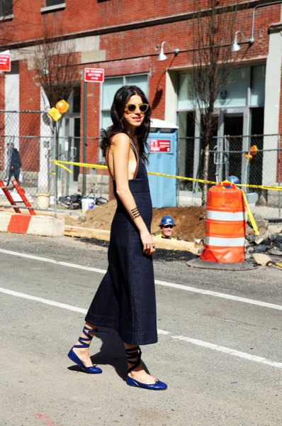 15 Beautiful Outfit Ideas: How to Wear Ballet Flats - FMag.c