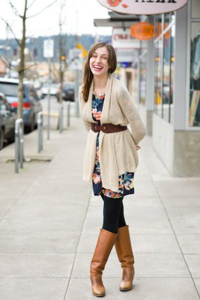 15 Amazing Outfit Ideas on How to Wear Belted Cardigan - FMag.c