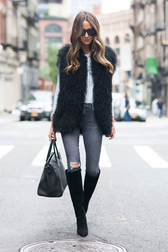 The Best Outfit Ideas Of The Week | Casual winter outfits, Fur .