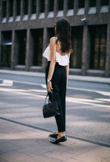 20 Airy Ruffle Shirt Ideas For This Summer - Styleohol