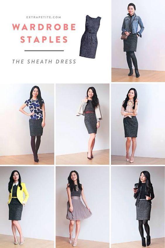 Wardrobe Staples: Styling a Sheath Dress | Fashion, Professional .