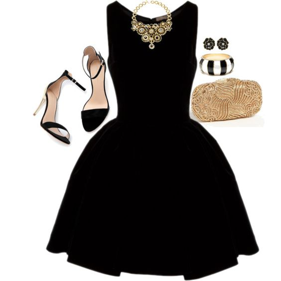 20 Cute Outfit Ideas with Black Dresses - Pretty Desig
