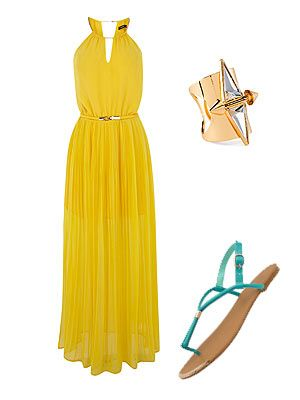 Wedding guest outfit ideas for the summer of love | Summer wedding .