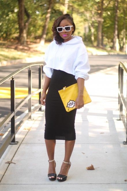 Opposites Attract (StyleLust Pages) | Cropped hoodie outfit, Crop .