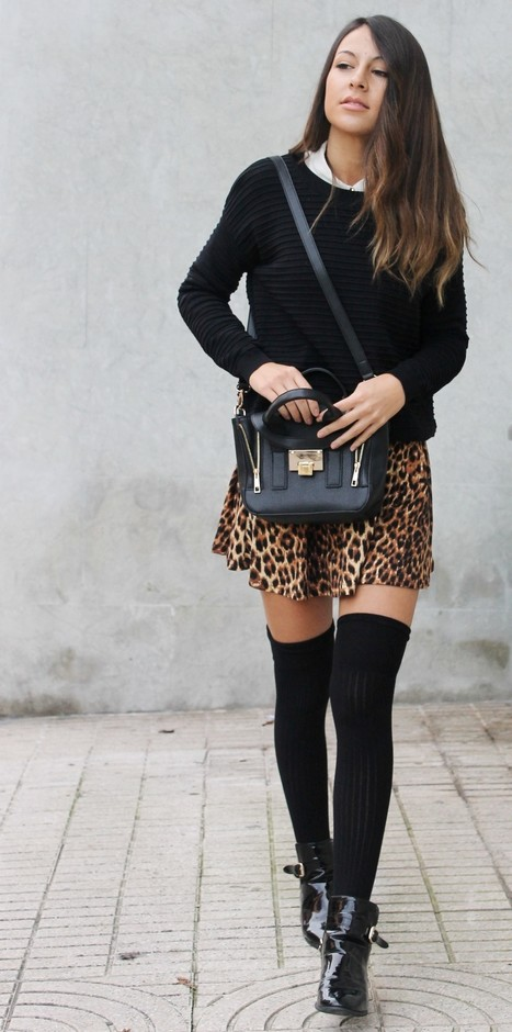 How to Wear Knee High Socks: 19 Stylish Outfit Ide