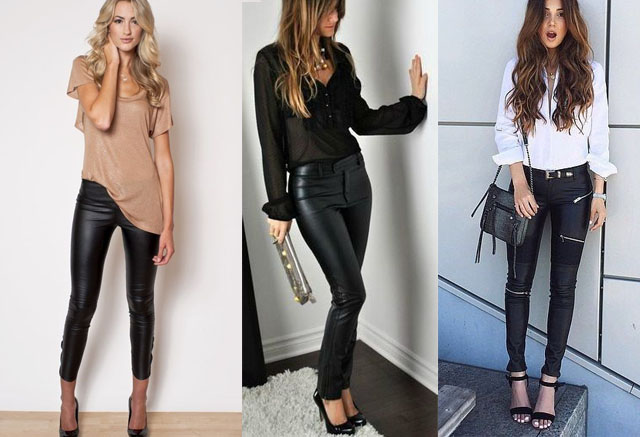 Leather Pants Outfit Ideas: 27 Ways to Wear & Best Looks | Fashion .