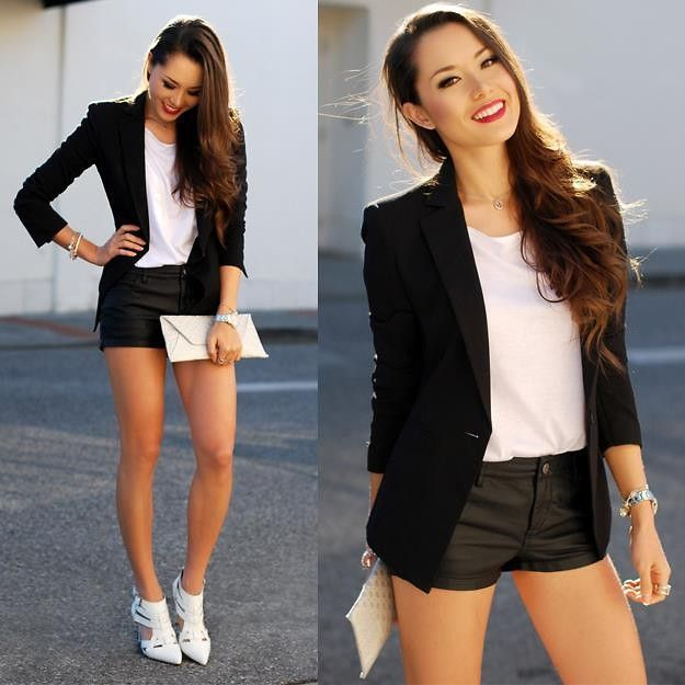 Cute Basic black and white outfit ideas in 2020 | Fashion, Outfits .