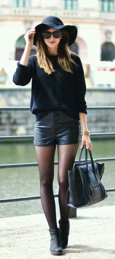 31 Best shorts with leggings images | Autumn fashion, Fashion, Cloth