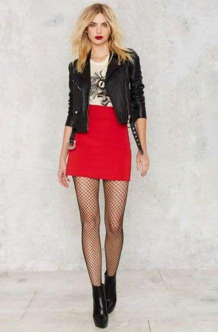 Super skirt red outfit summer high waist 46+ ideas #skirt | Ropa .