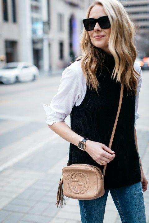 150+ Women Sleeveless Turtleneck Outfit Ideas | Sleeveless .