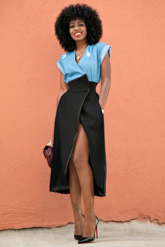 Wrapped in Style: 25 Amazing Wrap Skirt Ideas | Fashion, Skirt .