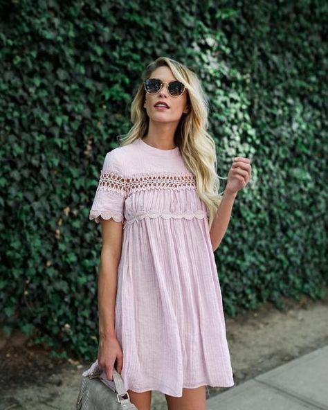 Blush Babydoll dress! | Clothes Spring 2k17 | Dresses, Fashion .
