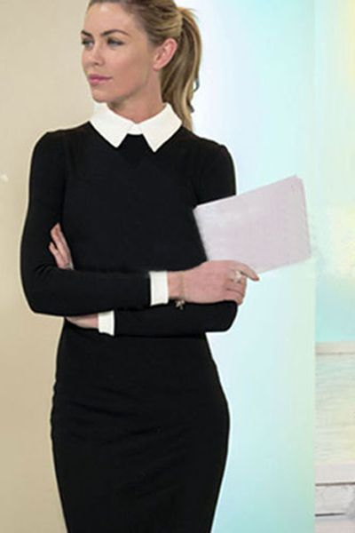 The Classy Cubicle: Navy | Style ideas | Fashion, Office dresses .