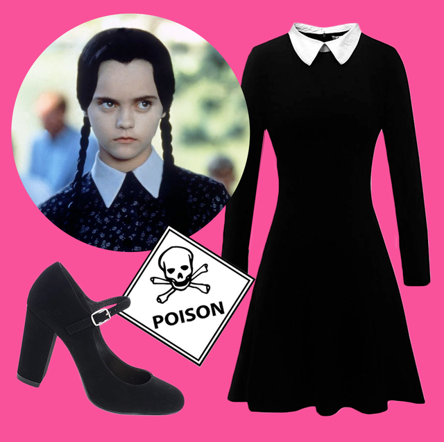 15 Best Wednesday Addams Costume Ideas 2019: Dress, Wig, Shoes .