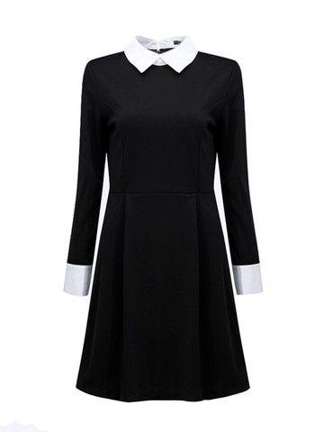 Wednesday Addams Style Dress – Deadly Divine #wednesdayaddams .