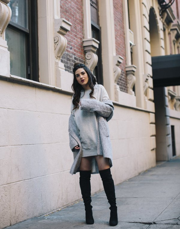 How to Wear Sweatshirt Dress: Top 13 Cozy Outfit Ideas for Women .