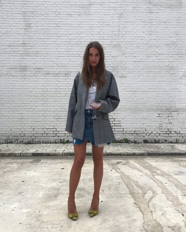 How to Wear Oversized Blazer: Top 13 Boyish Outfit Ideas for .