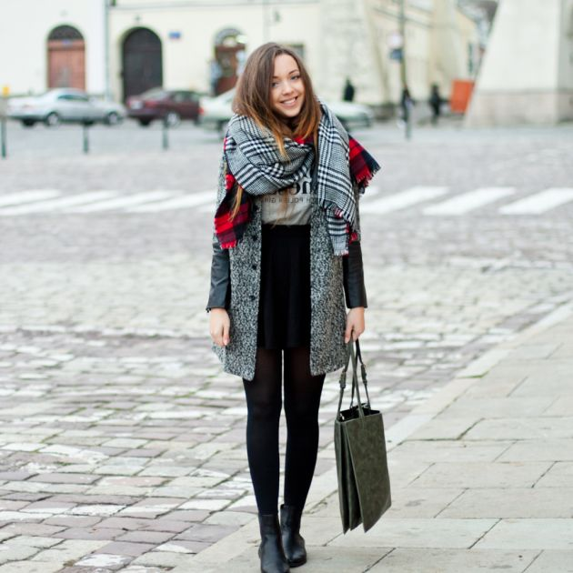 How To Style Oversized Scarves For Women: Trend Is Back 2020 .