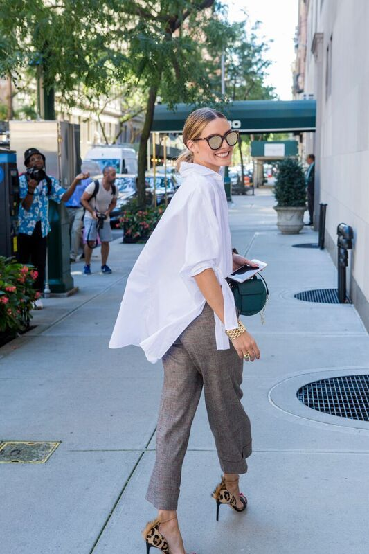 Snapped: Perfect for Work (OLIVIA PALERMO) | Style, Fashion .
