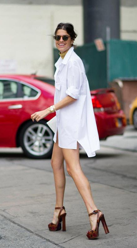 Street Style: It's All About Casual Elegance | Street style .