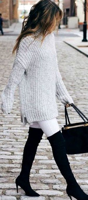 40+ Oversized Sweater winter outfit ideas for women | Casual fall .