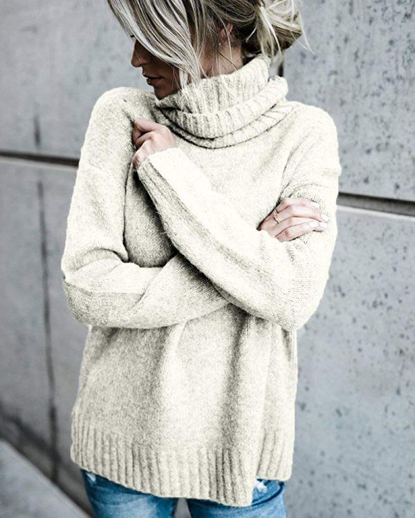 Oversized Sweater Outfits: 25 Gorgeous Outfit Ideas | Pullover .