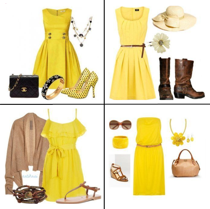 Yellow Dresses: What to Wear With Yellow Dress | LadyLi