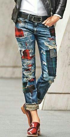 5 Ways to Wear Embellished Jeans | Embellished jeans, Denim .